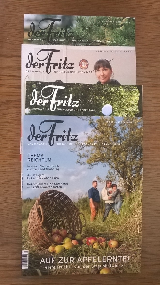 der Fritz - das Magazin für Kultur und Lebensart in Brandenburg