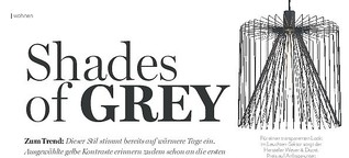 Wohntrend: Shades of Grey