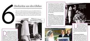 6 Hochzeiten um den Globus