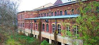 Denkmalgeschützte Papierfabrik vor dem Abriß?