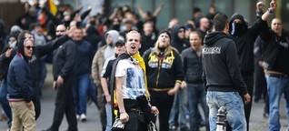 Hooligans entschuldigen sich - ein bisschen