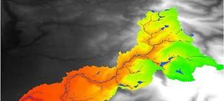 Wasserkraftstandorte suchen mit Big Data?