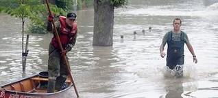 Bürger kämpfen gegen Kraftwerk - Das überschwemmte Kritzendorf und der Schlamm by Teresa Arrieta