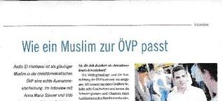 Wie ein Muslim zur ÖVP passt