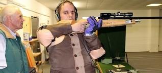 Behindertensport: Der blinde Schütze