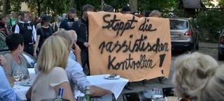 Es blieb friedlich: Schanze und Kiez: Spontandemo gegen einseitige Razzien