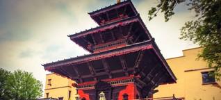 Die Tempel aus Nepal
