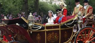 Kollegengespräch zur Hochzeit von William & Kate