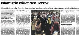 Islamistin wider den Terror