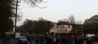 """""""Critical Mass"""" radelt durch Eimsbüttel"""