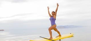 SUP Yoga: Balance halten und über dich lachen | eVivam