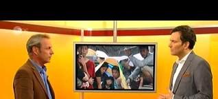 """Studiogespräch """"Volle Kanne"""" ZDF zu Taifun Haiyan / Philippinen 12.11.2013"""