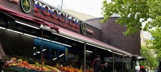 Zu Besuch im russischen Supermarkt Rossia