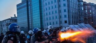 Die Schlacht um den Gezi-Park