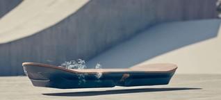 Neues Hoverboard: Fliegen wird (fast, vielleicht, bald) Wirklichkeit