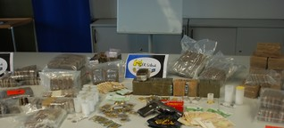100 Kilo Drogen in Hamburg sichergestellt