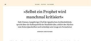 """""""Selbst ein Prophet wird manchmal kritisiert"""""""