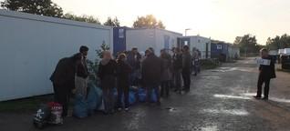Kein Arzt und kein Strom: 30 Stunden undercover in einem Hamburger Flüchtlingsheim