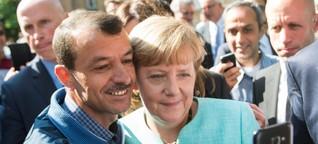 """Flüchtlinge - Die """"Wir""""-Botschaften der Politiker"""