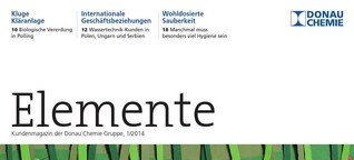 Elemente (Kundenmagazin Donau Chemie)
