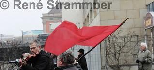 Potsdam - Gedenken der Linkspartei an Karl Liebknecht und Rosa Luxemburg