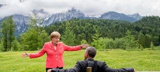 Merkel will die Klimakanzlerschaft zurück