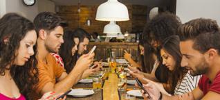 Social Snippet: Smartphone-Stress ist donnerstags am größten