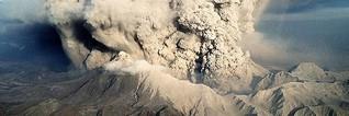 Vulkanausbrüche beeinflussen Wasserstand in Flüssen