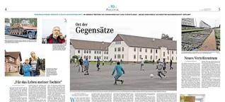 Oerbke: 350 Einwohner. 1400 Flüchtlinge. Ein Ort der Gegensätze.