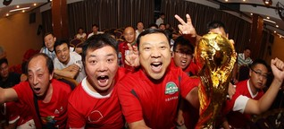 WM-Titel als Ziel - China erhebt Fußball zur Chefsache