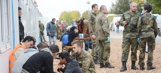 Zwischenstopp auf der Suche nach Asyl