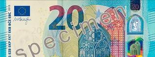 Neue 20 Euro Banknote kommt in Umlauf