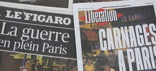"""""""Frankreich befindet sich im Krieg"""""""