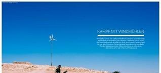 Kampf mit Windmühlen