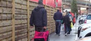 900 Obdachlose wieder auf der Straße