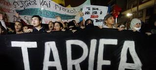 Brasilien: Proteste gegen erhöhte Fahrpreise