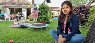 München: Au-Pair-Mädchen vermisst Familie in Nepal