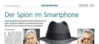 Der Spion im Smartphone