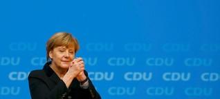 Merkels stärkste Rede überzeugt die CDU
