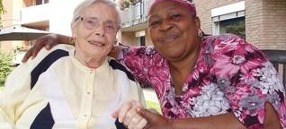 Am Ende ein Anfang: Flüchtlinge besuchen Senioren