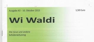 Wi Waldi #2, Schülerzeitung der Waldorfgschule Wiesbaden