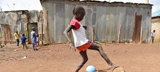 Schießen, nicht töten: Fußball-Rebellin Fatuma Adan im Interview