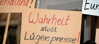 """""""Lügende Presse"""" - ehrliche User"""