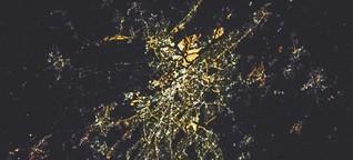 Hamburg leidet unter Lichtverschmutzung