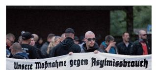 Flüchtlinge und Neonazis in Dortmund