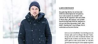 """""""Ich spiele Lars Eidinger"""""""
