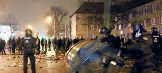 So lief der sechste Pogida-Aufmarsch in Potsdam: Pogida zum Umkehren gezwungen - Neueste Nachrichten aus Potsdam