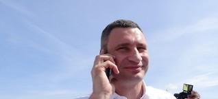 Vitali Klitschko, Ex-Boxweltmeister und Bürgermeister von Kiew