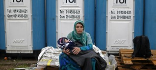 Wie eine Toilette Flüchtlingen helfen soll