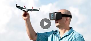 Ein Papierflieger als High-Tech-Drohne